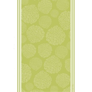 asha tea towel - gooseberry green