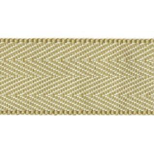 herringbone  in bath stone yellow interior decorative woven trimming braid