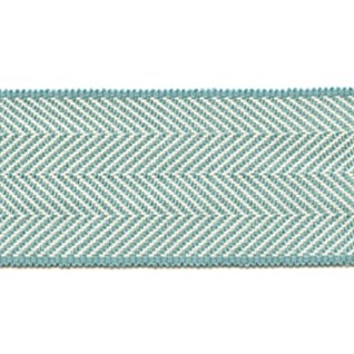herringbone trim in blue interior decorative woven trimming braid