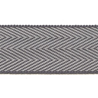 herringbone trim in grey interior decorative woven trimming braid
