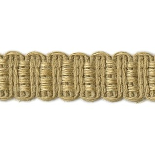 natural jute interior decorative trim or braid