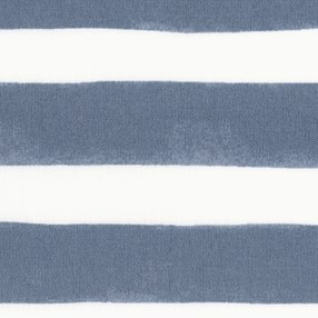 blue & white nautical stripe roller blind print