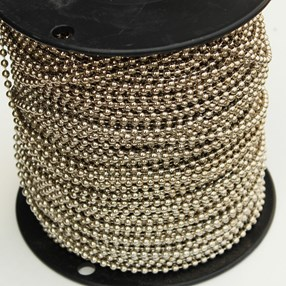 rollease nickel-plated steel bead chain for blinds