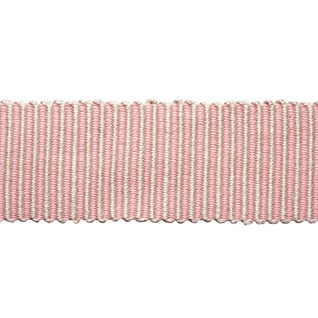 pastille striped trim - rosewater