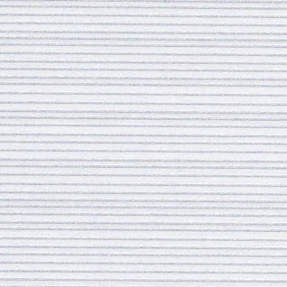 pencil pleat white striped voile spring window blind