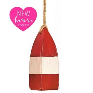 mini buoy pull - red
