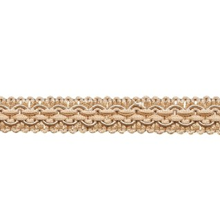 regency braid in beige is a traditional decorative patterned trimming