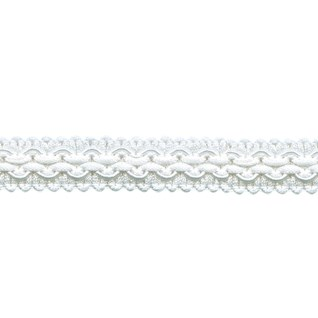white regency braid is a traditional decorative patterned trimming