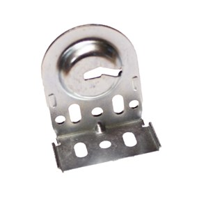 silver slotted SoftRoller® bracket 531 25 011