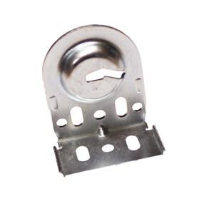 silver slotted SoftRoller® bracket 531 25 011