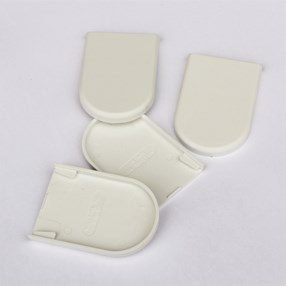 skyline 38mm narrow bracket cover in white