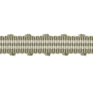 mocha colour in tenby braid, a simple modern stripped trimming for interiors