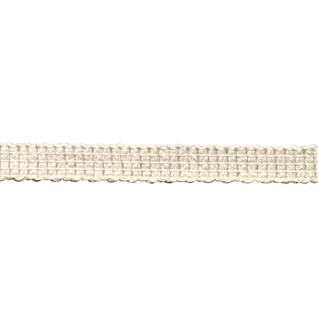 uno braid in angora colourway, a cotton decorative trimming with minimalist look