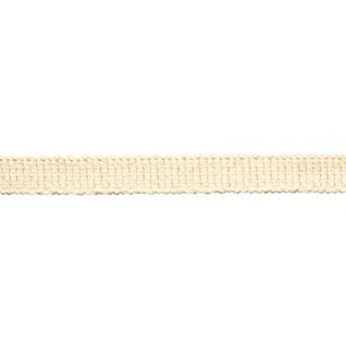 uno braid in pampas cream colourway, a cotton decorative trimming with a flat minimalist look