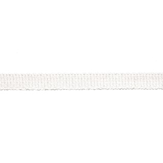 uno braid in snow white colourway, a cotton decorative trimming with a flat minimalist look