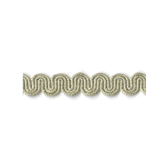 arco metallic braid - glacier silver