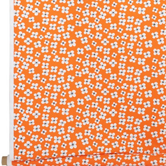 belle amie fabric - orange