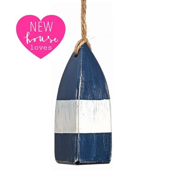 mini buoy pull - navy blue
