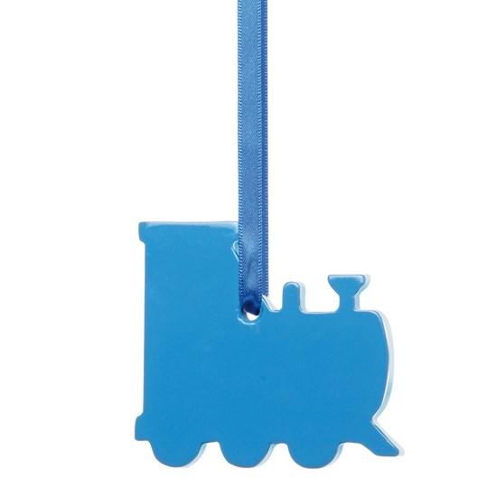 childs blind pull - train