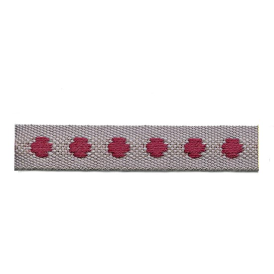 deco spot trim - persian red