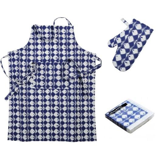 frisco BBQ apron gift set
