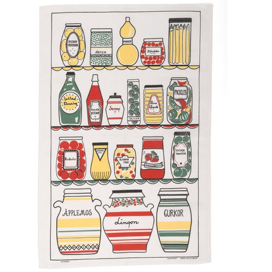 Swedish pantry tea towel