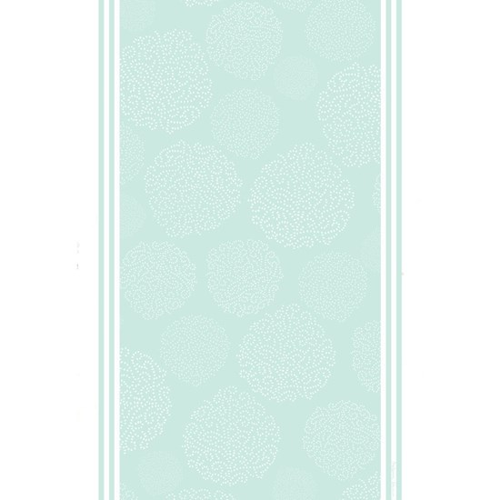 asha tea towel - duck egg blue