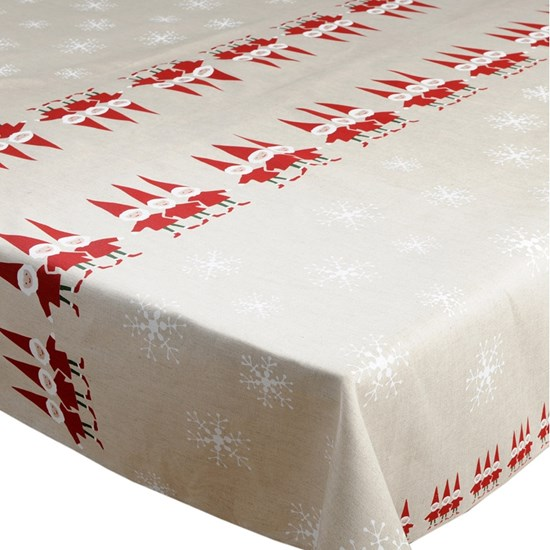 nordic elves tablecloth