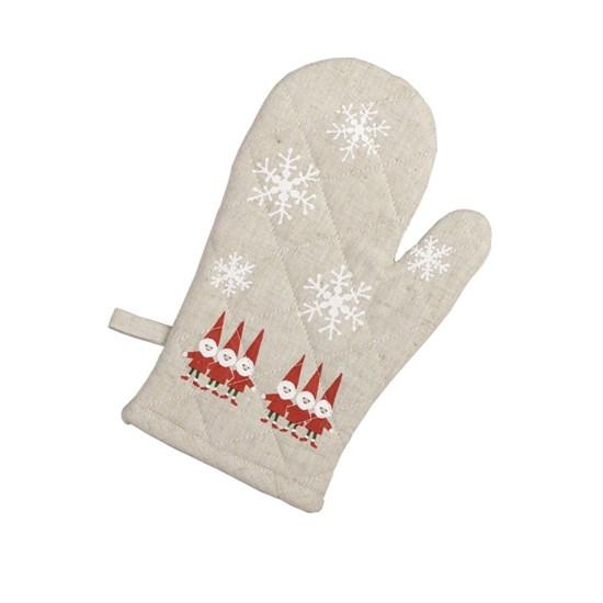 nordic elves oven glove