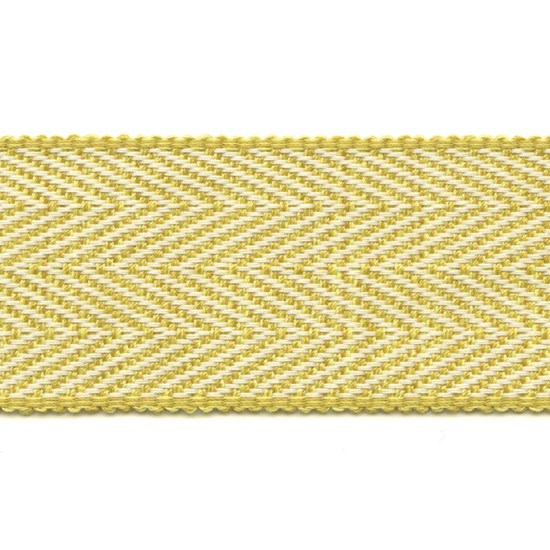 herringbone trim - colombia yellow