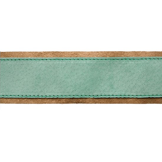 iris suede braid - mint cream
