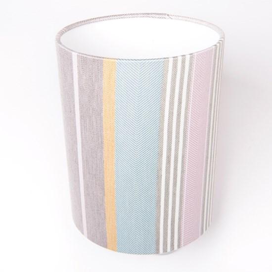 Mistley Lamp Shade in blossom/grey