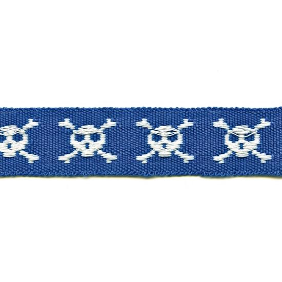 mr bones trim - blue