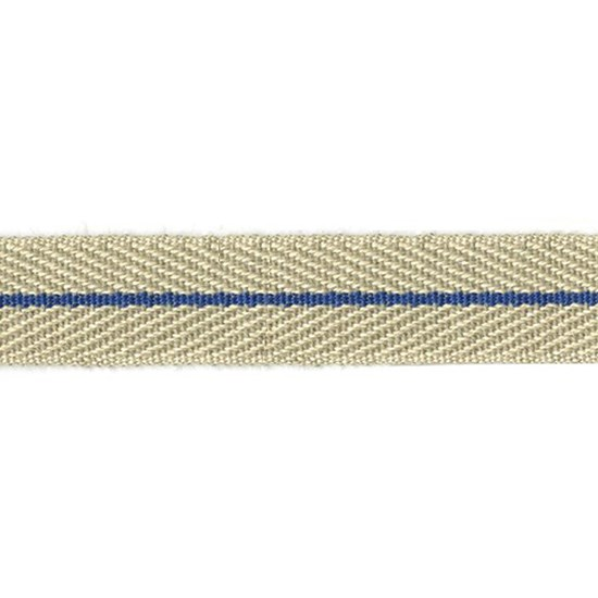 nautical stripe trim - navy blue