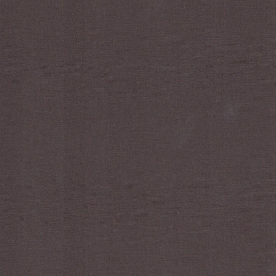 swedish cotton plain - chocolate