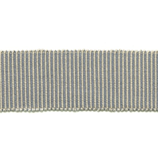 pastille striped trim - slate grey