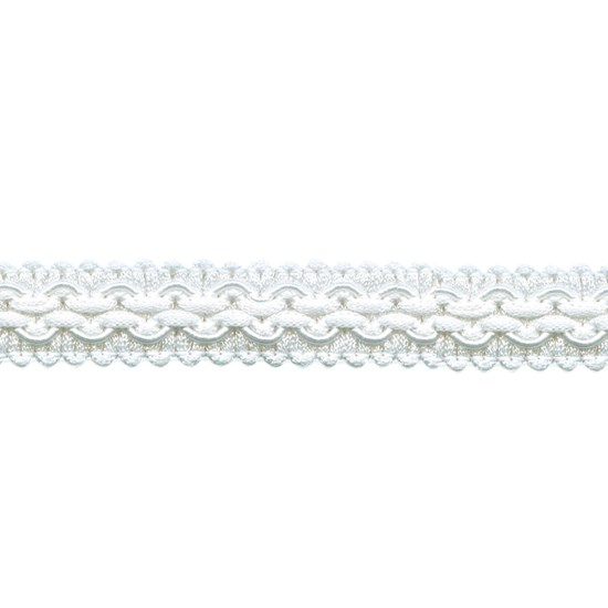 regency braid - white