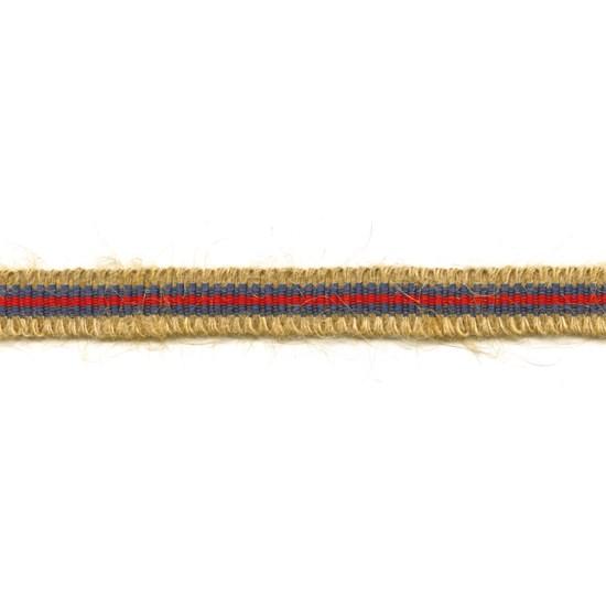 rio striped jute trim - riviera
