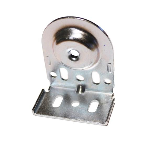 silver pin end bracket