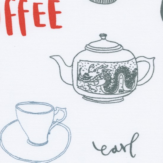 tea & coffee - poppy red