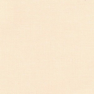 textured plain roller blind window fabric canvas in butterbean cream