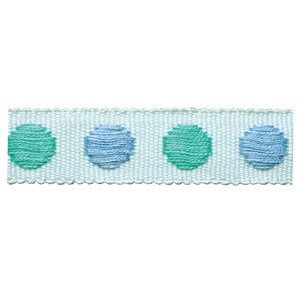 childrens spot trim - spearmint