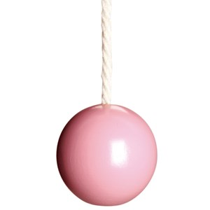 childrens ball blind pull - pink