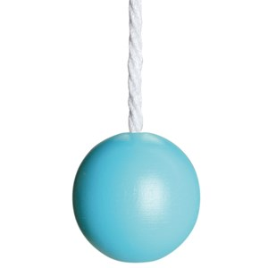 childrens ball blind pull - turquoise