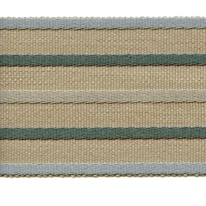 fletcher stripe trim - elderflower