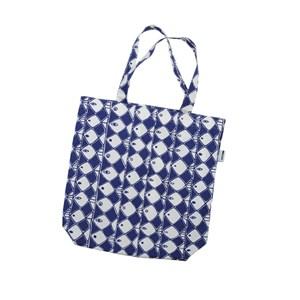 frisco cotton bag a classic blue and white fish design a swedish vintage 1950 design