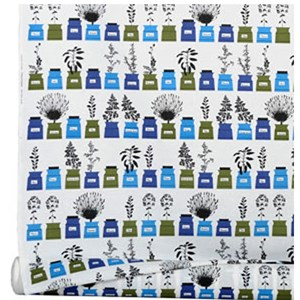 herb garden fabric - multi