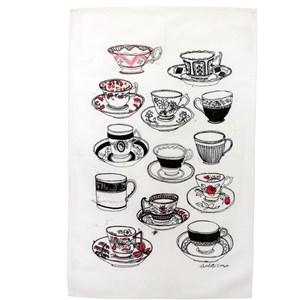 time for tea tea towel