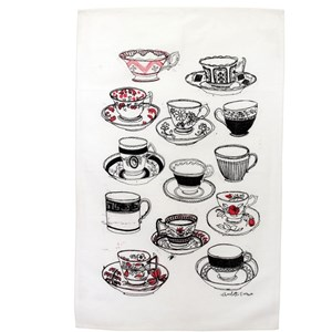 time for tea tea towel