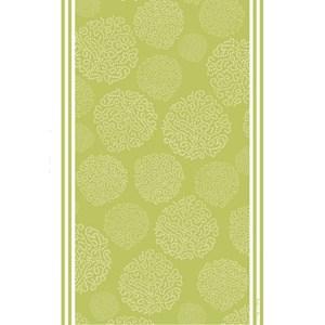 asha tea towel - gooseberry green